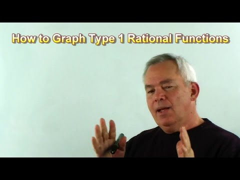 How to Graph Type 1 Rational Functions