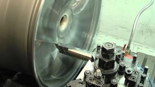 Cnc wielen wheels polijsten Polijsten cnc Karelsenbanden Soest Utrecht Amsterdam Film CNC