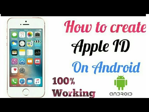 How to create apple id on android without credit card