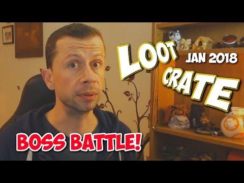Loot Gaming Box Opening - Jan 2018 Boss Battle
