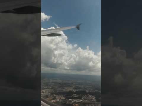 Flying into San Juan Puerto Rico/SJU