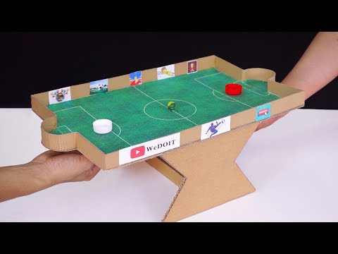 How to Make Amazing Football Table Game for 2 Players - DIY projects