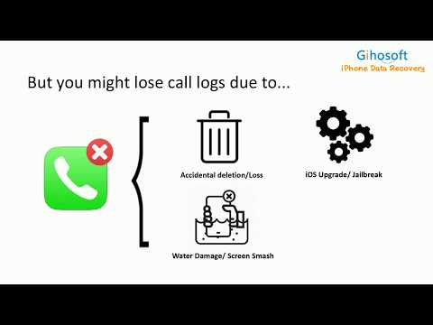 How to Recover Deleted Call History/Logs on iPhone X/8/7/6