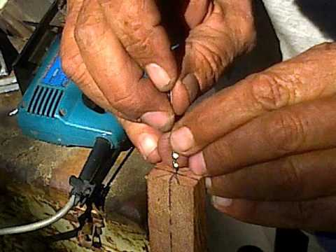 Highland Hillbilly Pipecrafting..; #1, Cutting, Marking, Drilling.