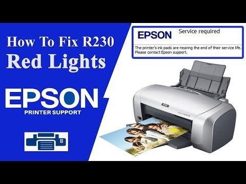 Resetter Epson R230 | Epson R230 - R220 Adjustment Program
