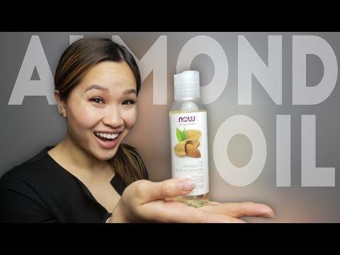 Almond Oil |  Eczema Treatment, Dark Circles Removal & Eyelash Growth