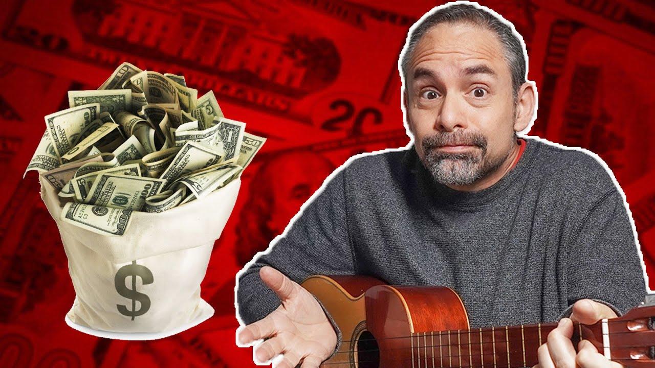 ¿Cómo se gana la vida un músico?