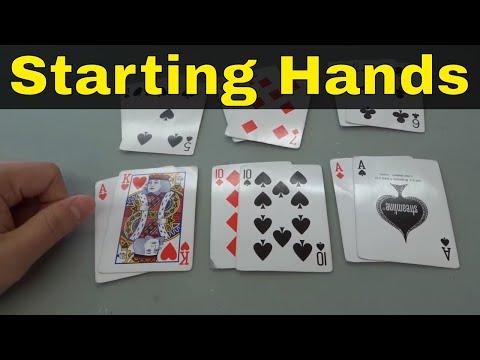 Best Starting Hands In Poker-No Limit Hold Em