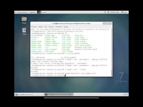 Configuración DNS en Centos 7