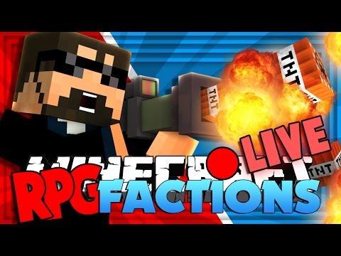 Minecraft: RPG Factions   TNT LAUNCHER GUN!! [14]