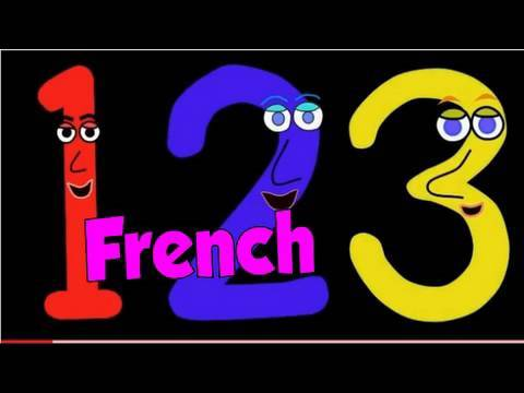 Numbers Song in French. Une Chanson des Chiffres.