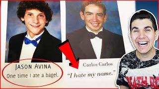 Funniest Senior Yearbook Quotes!
