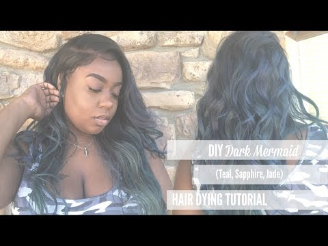 DIY Teal/Sapphire Hair | ft. Ion Color Brilliance
