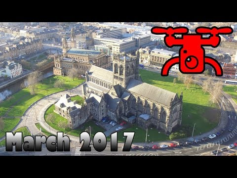 Paisley from the Air - March 2017 Drone Footage