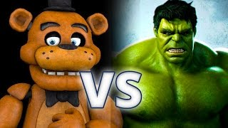 Golden Freddy Vs Hulk - Epic Battle - Left 4 dead 2 Gameplay (Left 4