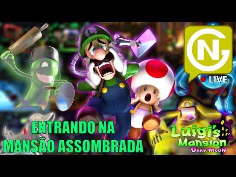 O Inicio da Aventura do Luigi! | Luigi's Mansion 2 #1
