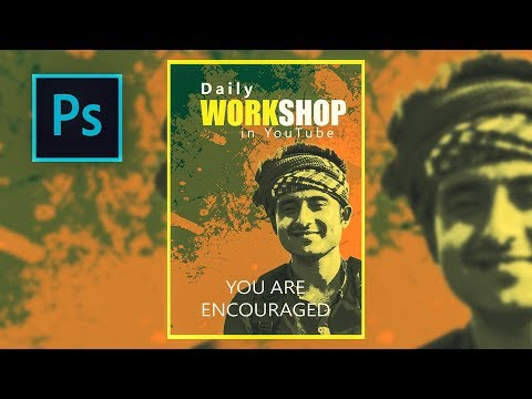 Workshop Poster Making | Easy Way | Photoshop CC Tutorial