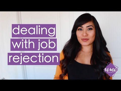 How To Deal With Job Rejection | XOMO Society