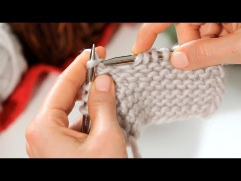 How to Do a Basic Knitting Stitch | Knitting