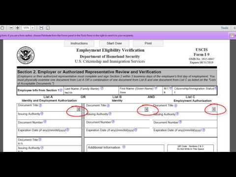 How to Complete an I-9 Form