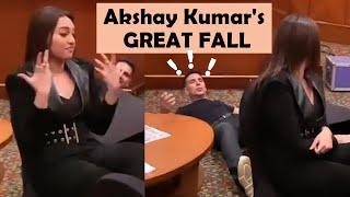 Akshay Kumar's GREAT FALL | Prank with team BOI goes VIRAL | Mission Mangal