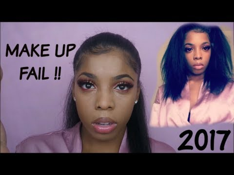 MAKEUP FAIL !! I SHOULDN'T HAVE DONE IT ! | TUTORIAL GONE WRONG