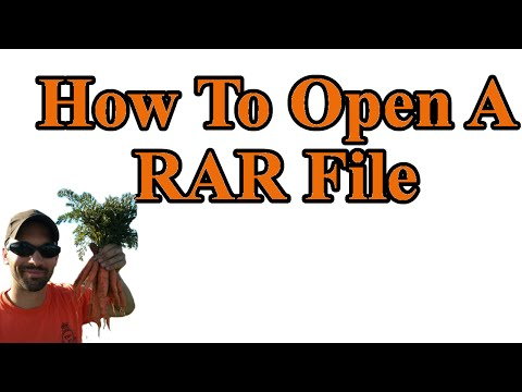 How to open RAR and 7z files - i.e how to get the mods out of RAR files