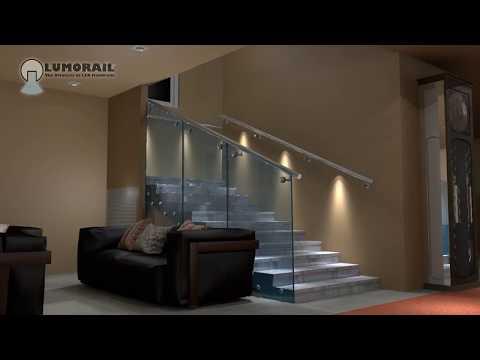 3D video animation/ The Logan Illuminated Handrail system