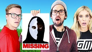 The Game Master is Missing in Real Life! (New Clues Found outside Youtubers House!)