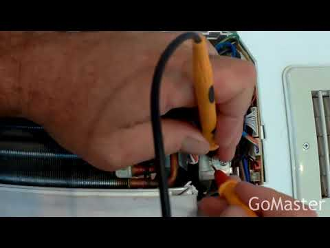 How to test and replace Thermistors (temperature sensors) on split air conditioner AC