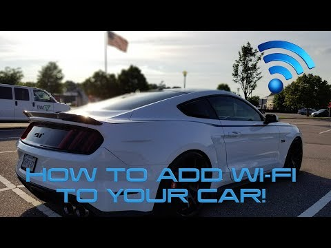 How to Add Wi-Fi to your Car