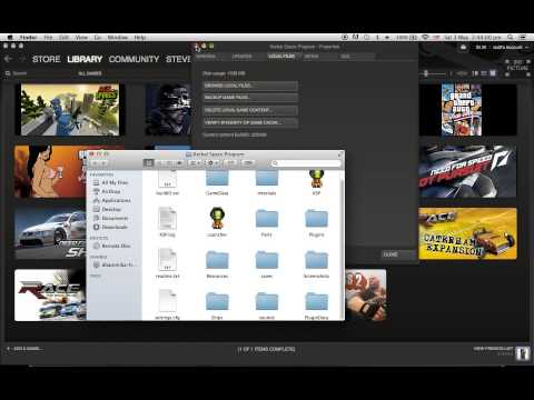 How to install mods for Kerbal Space Program on Steam, mac osX