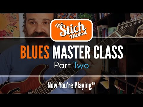 Blues Master Class 2  NOW AVAILABLE!!!  Link Below For Half Price.