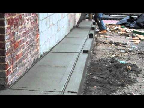 tk design management .Concrete sidewalk, curbs, handicap ramp and driveway apron