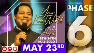 Pastor Chris LIVE:: Your LoveWorld PHASE 6 DAY 6