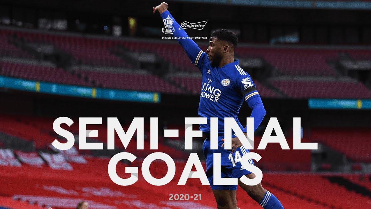 55th Minute Magic | Budweiser's Semi-Final Goals | Emirates FA Cup