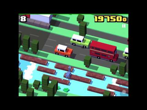 CROSSY ROAD NESSY Unlock | NEW Secret Character UK Update | The Loch Ness Monster (iOS, An