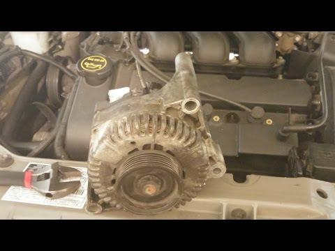 Ford taurus alternator removal