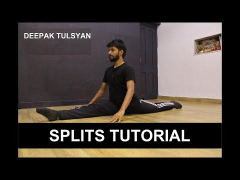 How to get Splits in 1 week| FAST, EASY & SIMPLE | BEGINNERS | Stretching, Flexibility Workout