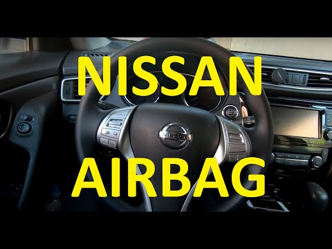 How to remove airbag on Nissan Rogue Altima 2013 2014 2015 2016 2017 2018