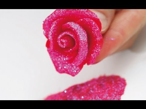 HOW TO CREATE MARZIPAN FLOWER !