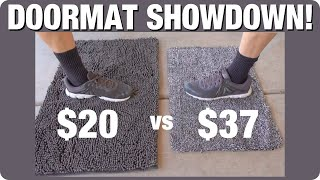 Doormat Showdown: Cleaner Mat vs Super Sponge