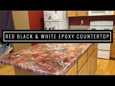 Metallic Epoxy Countertop Coating using Leggari Products
