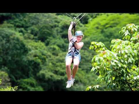 What laws will I break when riding a zipline?