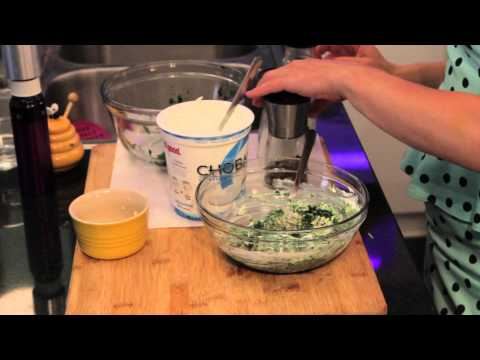 Cold Spinach Dip Recipe : Appetizers & Cooking Techniques