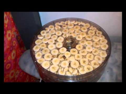 Nanners: Dehydrating bananas