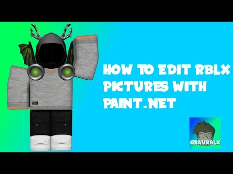 How to use make ROBLOX pictures with Paint.Net