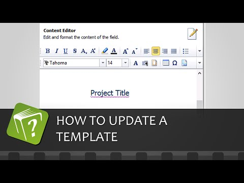 How to update a template (Step-by-step guide)
