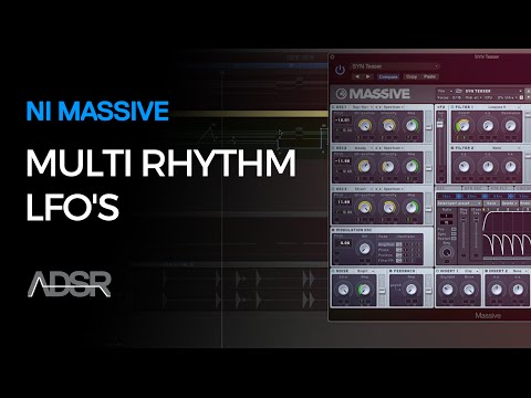 NI Massive - Multi Rhythm LFO's
