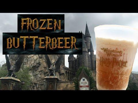 HOW TO MAKE FROZEN BUTTERBEER!